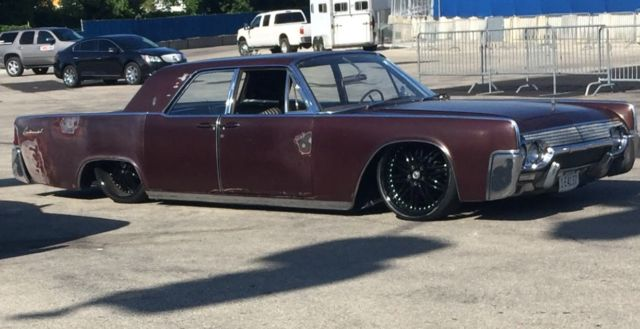 Original Patina 1961 Suicide Door Lincoln Continental