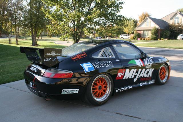 2004 Porsche 996 Cup For Sale: Original Porsche 996 GT3 Supercup For Sale In Wichita
