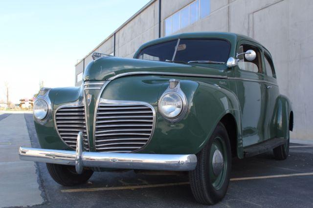 P12 special deluxe 2 door sedan coupe good driver future for 1941 plymouth deluxe 4 door