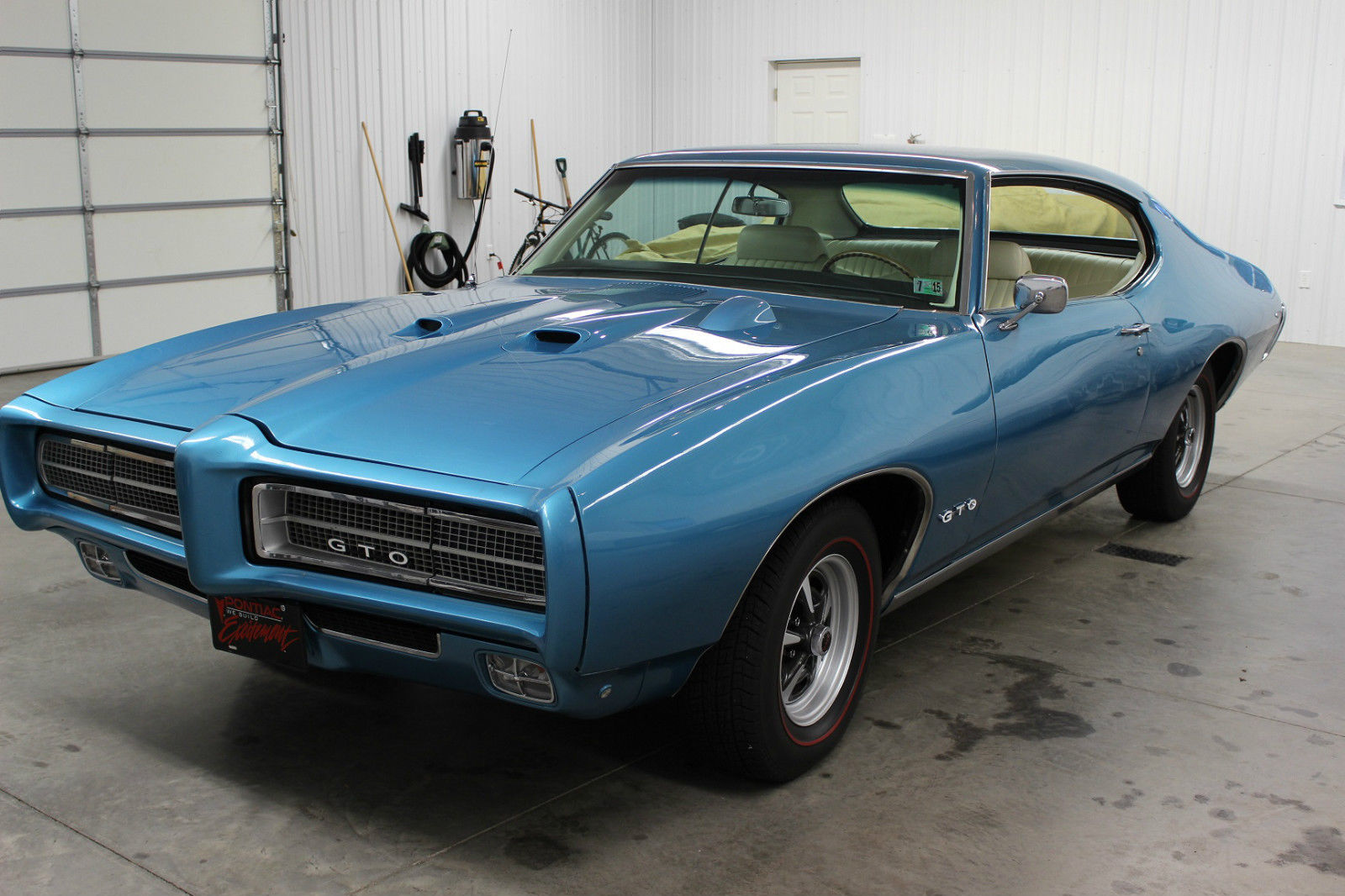 pontiac 1969 gto restored with 455 engine for sale in. Black Bedroom Furniture Sets. Home Design Ideas