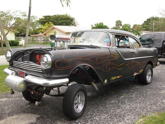 Pontiac collector car custom hot rod rat rod racer gasser