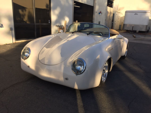 Porsche 356 Speedster Replica Wide Body Ivory