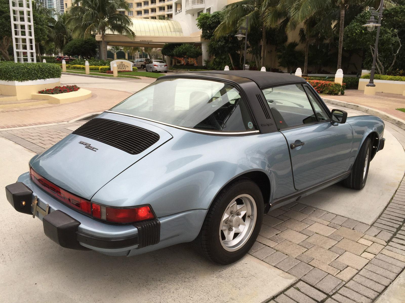 Porsche 911 Sc Targa Classic Collectable Vintage Air