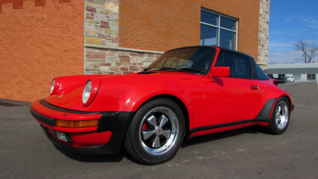 Porsche 911 Wide Body Targa 491 Option Turbo Look Limited Production Orig For Sale Photos Technical Specifications Description