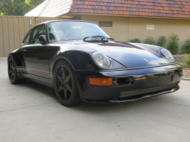 Porsche 993 Turbo Look Outlaw Hotrod With Singer Features