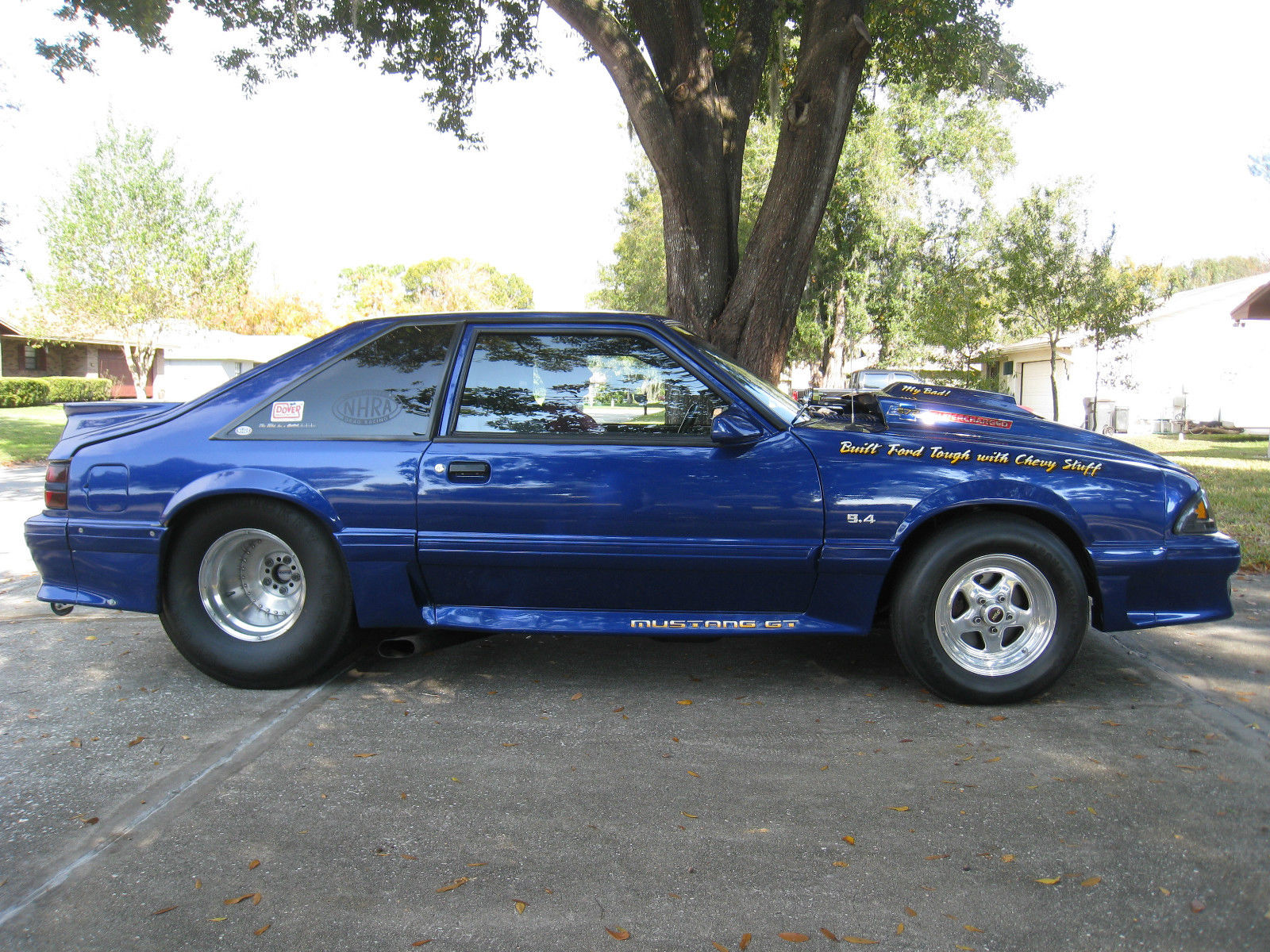 Pro Street Fox Body Mustang Rolling Chassic for sale in