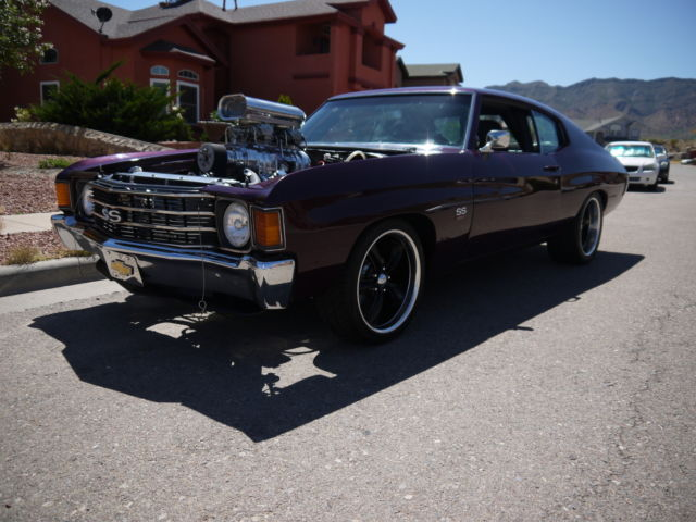 Pro Street Supercharged Blown Big Block 454 Chevelle, ONLY ONE ON