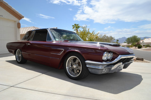 60142 Pro Touring 65 Thunderbird on 1963 ford falcon sprint specifications