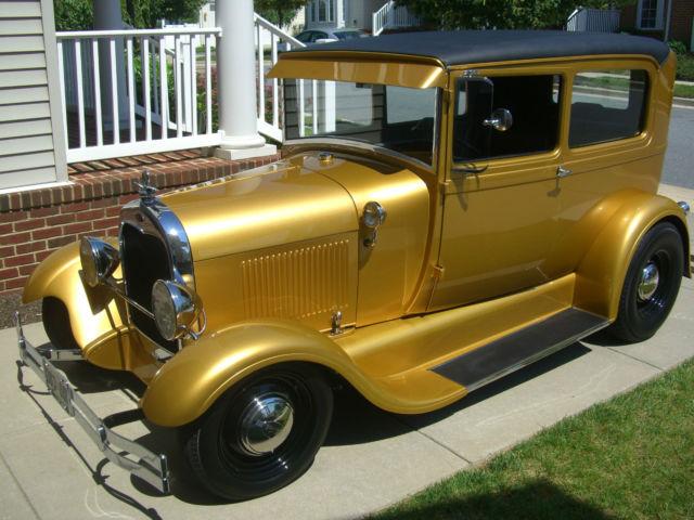 Professionally built 1929 ford model a street rod for 1929 model a 2 door sedan