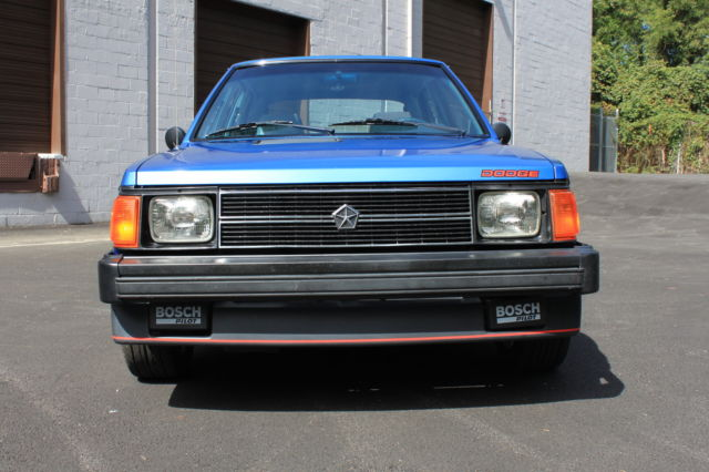 rare 1 of 800 1986 dodge omni glh turbo only 32k miles for sale in wilmington. Black Bedroom Furniture Sets. Home Design Ideas