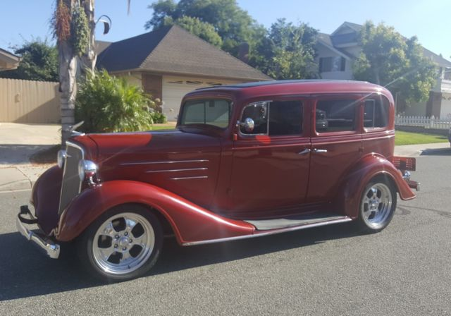 RARE!!! 1934 ALL STEEL Chevrolet Master 4 door Hotrod for