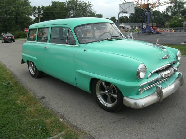 Rare 1951 plymouth suburban 2 door for 1951 plymouth 2 door