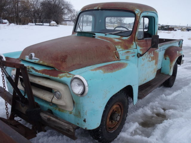 International Harvester Logo >> RARE 1956 International S-120 Pickup, Original Patina ...