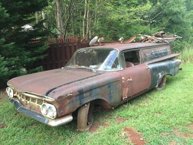 1960 Chevy Sedan Delivery Wagon Ratrod for sale in Spencer, Iowa