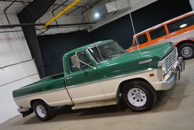 Rare 1967 Ford F100 Custom Cab 75k Original Miles 352 V8