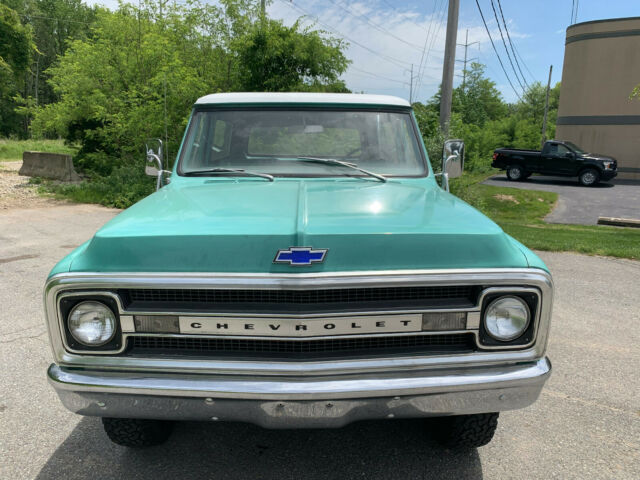 Rare 1969 Chevy Blazer K5 4x4 307 V8 3spd Manual 36k Miles