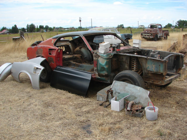 Rare 1969 Mustang Fastback Project Car Rolling Chassis
