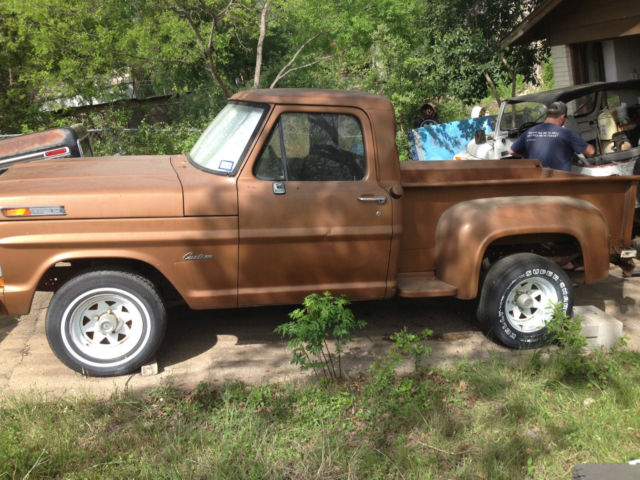 Rare 1972 Ford F100 stepside project truck very little ...