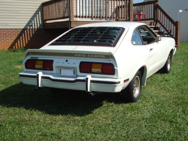 1978 Mustang King Cobra T Top For Sale