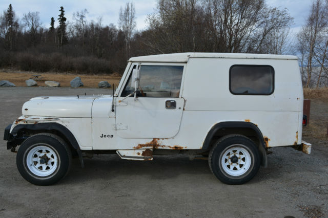 rare 1984 cj8 alaskan postal jeep with world cab hard top for sale in anchorage alaska united. Black Bedroom Furniture Sets. Home Design Ideas