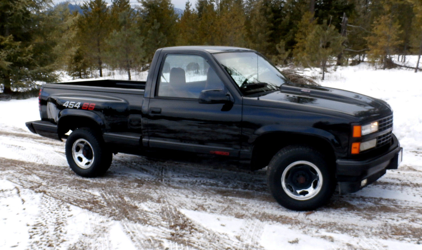 Rare 1990 Chevy 454ss Stepside Pickup For Sale In Spirit