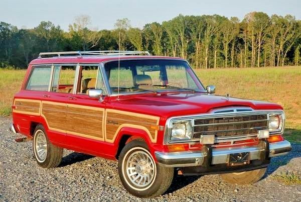 rare colorado red jeep grand wagoneer w sunroof for sale photos technical specifications description classiccardb com