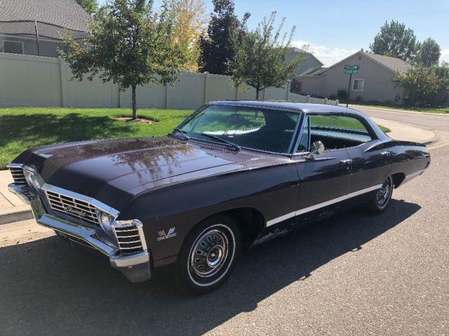 rare find 1967 chevrolet impala 4 door spor sedan 396bb supernatural car. Black Bedroom Furniture Sets. Home Design Ideas
