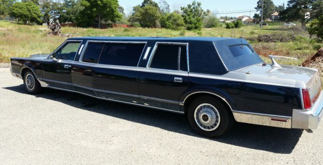 Rare Lincoln Widebody Stretch Limousine Of A Kind