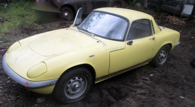 RARE Lotus Elan 1965 S2 for sale in Ossipee New Hampshire