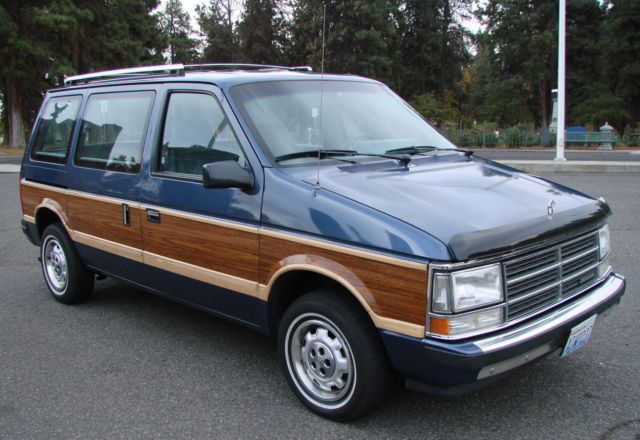 Rare survivor, one owner, low miles, clean, SE woody wagon (mini van) no rust! for sale in The ...