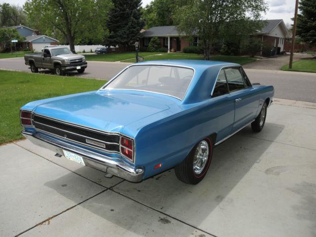 Real Deal 1969 Dodge Dart Gts M Code 440 Mopar Factory