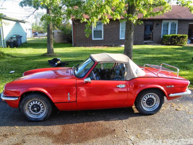 Paint For Classic Triump Car