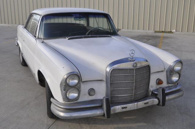 restoration or project car 1964 mercedes benz 220se coupe. Black Bedroom Furniture Sets. Home Design Ideas