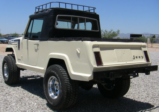 Lifted Jeep Renegade >> Restored 1968 Jeep Commando 4x4 Half Cab Rare & Unique ...