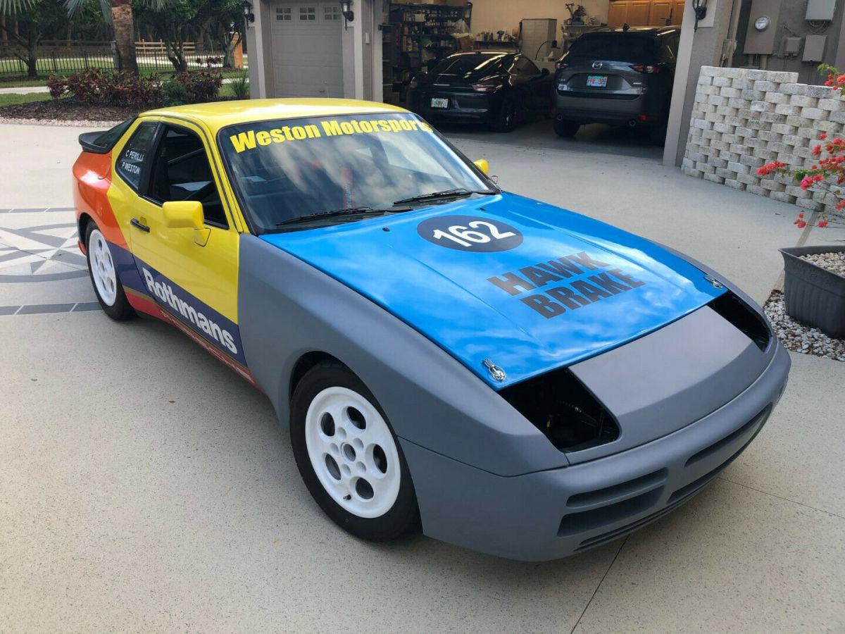 Rothmans Porsche Turbo Cup Factory Race Car With Enclosed Trailer For Sale Photos Technical Specifications Description