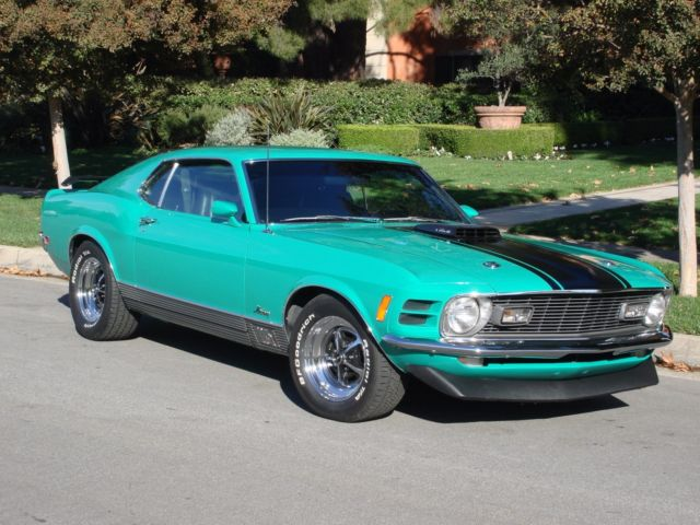 rotisserie restored mustang mach 1 428 cobra jet v8 4 speed. Black Bedroom Furniture Sets. Home Design Ideas
