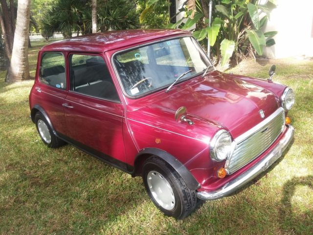 Rover Mini Cooper Special Edition Mayfair 1000cc For Sale Photos