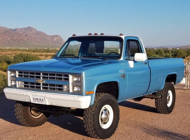 RUST FREE 1984 Chevrolet K20 3/4 Ton 4x4 Very Orig ...