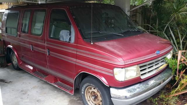 1993 Ford E Series Van Econoline 150 E150