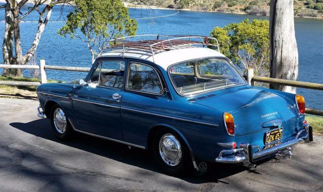 Volkswagen San Diego >> Sea Blue VW 1500 S Notchback Sedan