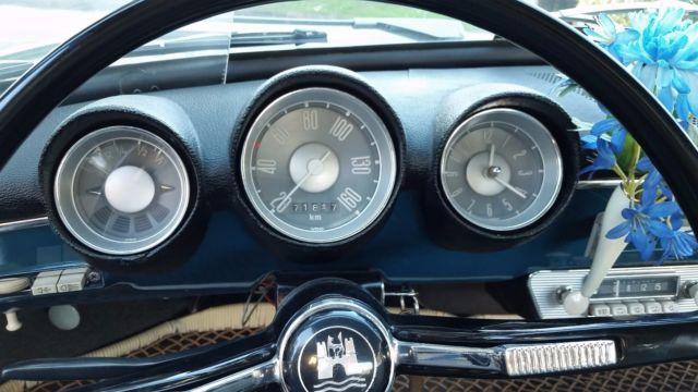 Sea Blue Vw 1500 S Notchback Sedan