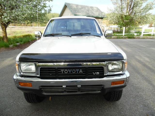 Selling At No Reserve 2 Owner Low Mile 1990 Toyota X Cab Pickup 4x4 V 6 Survivor