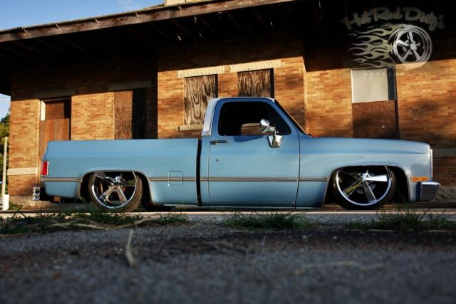 Slammed Silverado C10 Chevy Hot Rat Street Rod Patina
