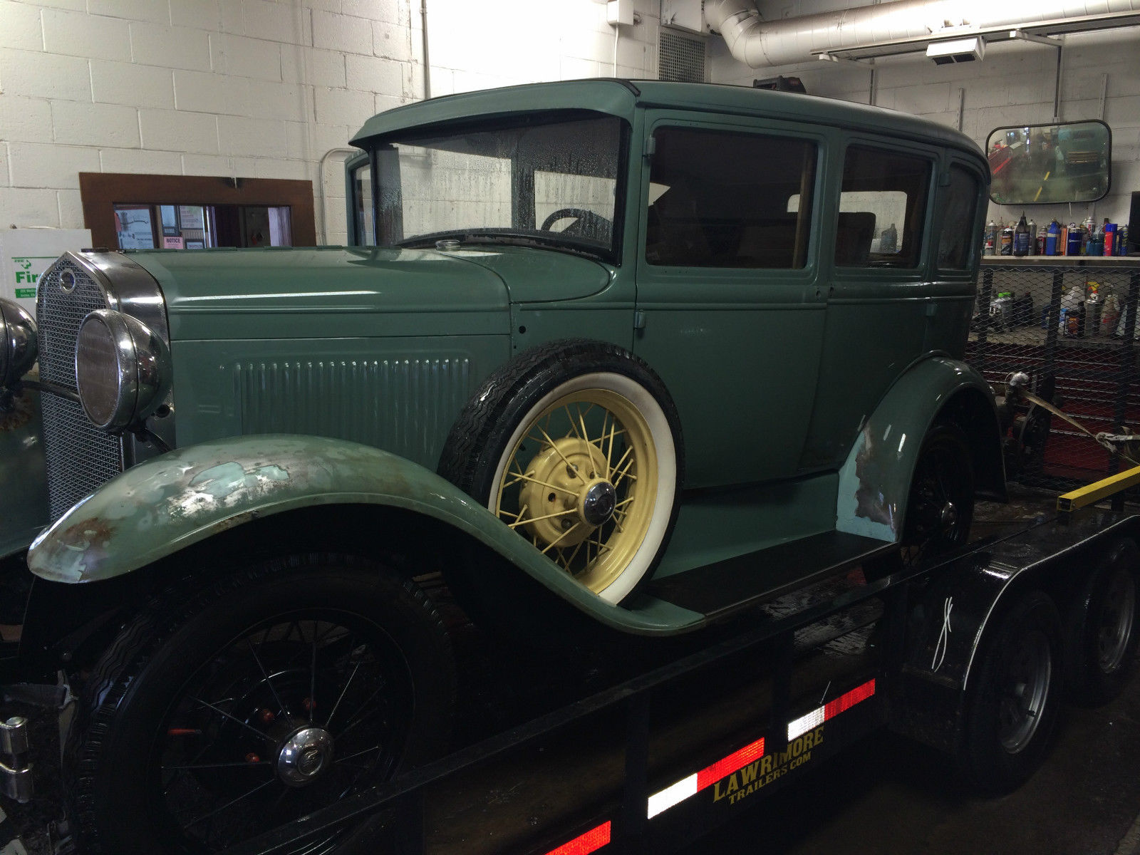 Solid 1930 Model A Fordor Sedan Project Car HotRod project car for ...