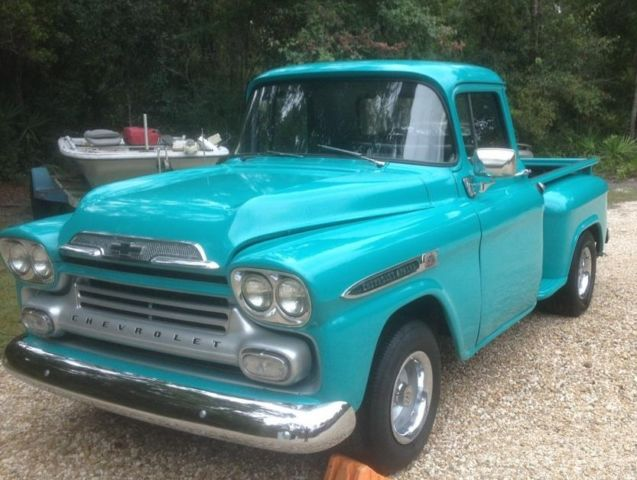 Solid Original 59 Chevy Apache 3100 for sale in Sopchoppy