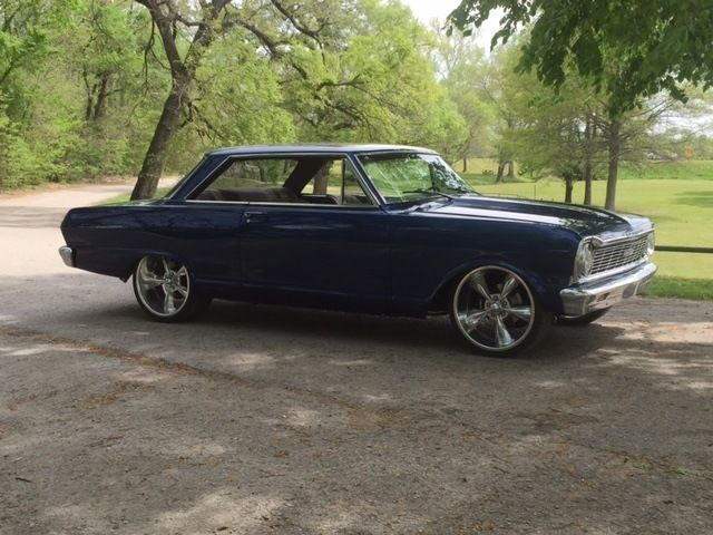 souped up 1965 nova with awesome customizations for sale in sallisaw oklahoma united states. Black Bedroom Furniture Sets. Home Design Ideas