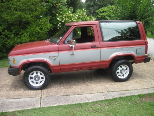 southern 1985 ford bronco ii xlt 4 wheel drive no rust 136 000 miles. Black Bedroom Furniture Sets. Home Design Ideas
