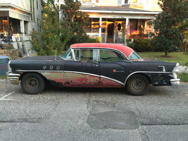 Special riviera 4 door hardtop all original no reserve for 1955 buick special 4 door for sale