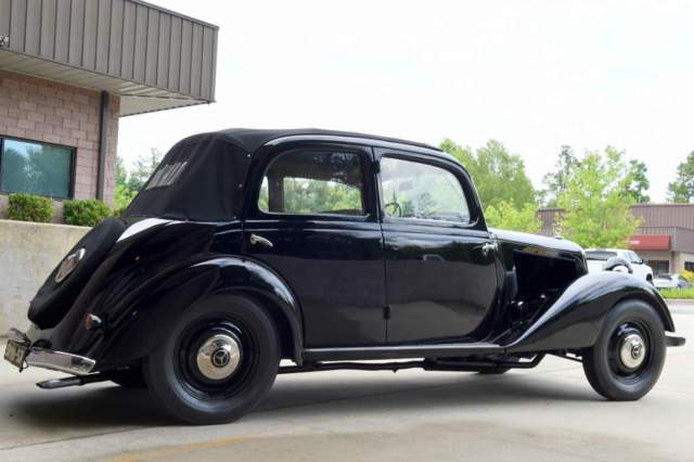 Stunning 1939 mercedes benz 170v cabriolet prewar concours for Fletcher mercedes benz