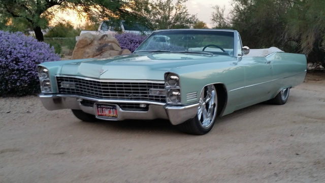 stunning 1967 cadillac deville convertible for sale in. Black Bedroom Furniture Sets. Home Design Ideas